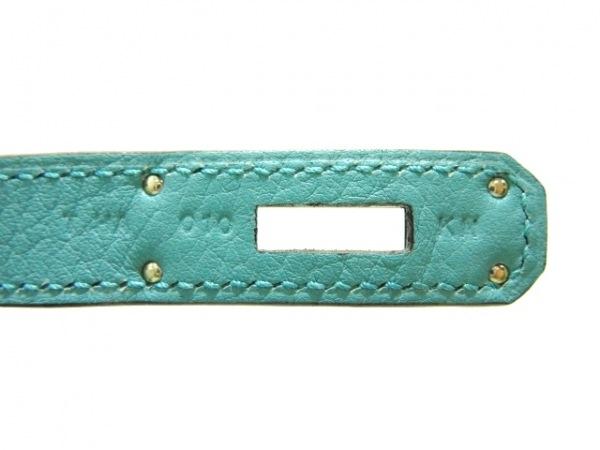 HERMES(エルメス) ハンドバッグ美品  バーキン30 ブルーアトール 4