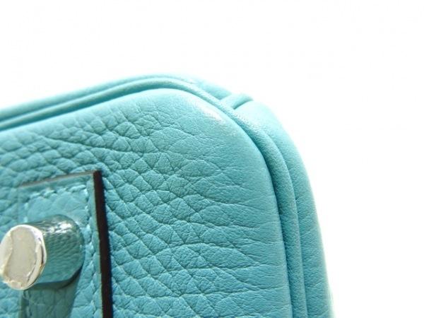 HERMES(エルメス) ハンドバッグ美品  バーキン30 ブルーアトール 7