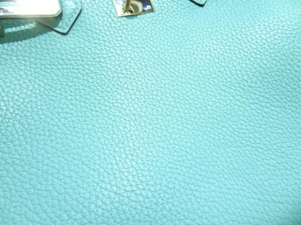 HERMES(エルメス) ハンドバッグ美品  バーキン30 ブルーアトール 8