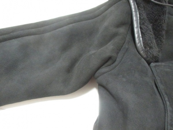 COACH(コーチ) コート サイズXS レディース美品  黒 冬物/ムートン 5