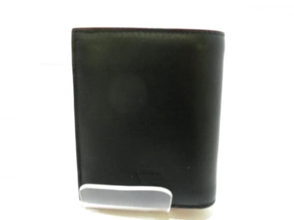 クリスチャンルブタン 2つ折り財布美品  黒 スタッズ 2