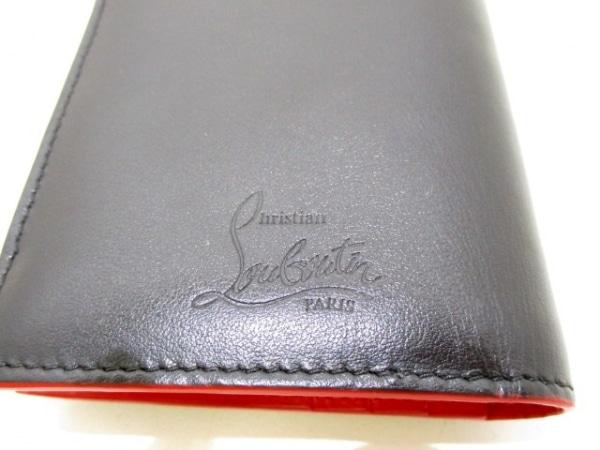 クリスチャンルブタン 2つ折り財布美品  黒 スタッズ 5