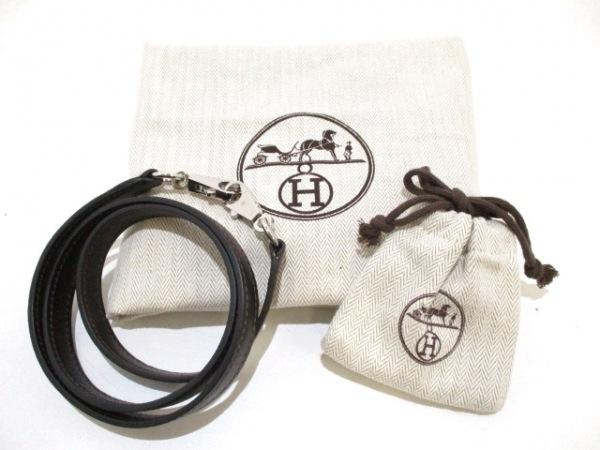 エルメス ハンドバッグ ケリー32 ショコラ シルバー金具/内縫い 9