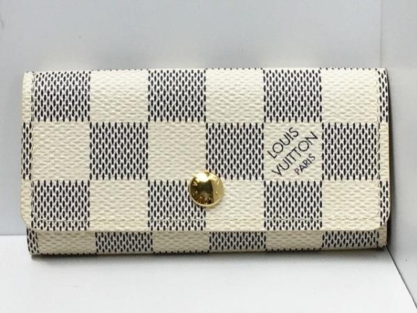 ルイヴィトン キーケース ダミエ美品  ミュルティクレ4 N60020 0