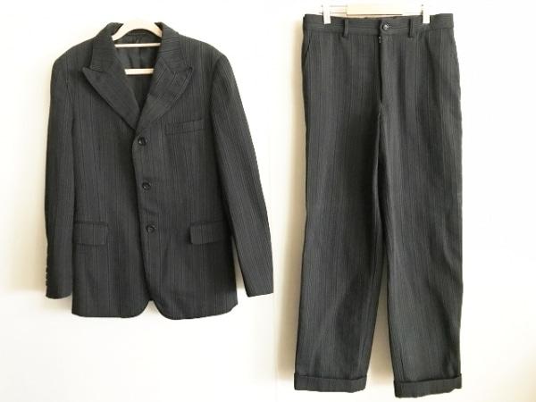 コムデギャルソンオムプリュス シングルスーツ サイズS メンズ 黒 0