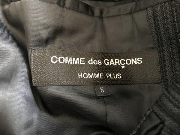 コムデギャルソンオムプリュス シングルスーツ サイズS メンズ 黒 3