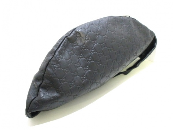 GUCCI(グッチ) ウエストポーチ シマライン 246409 黒 ボディバッグ 4