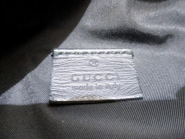 GUCCI(グッチ) ウエストポーチ シマライン 246409 黒 ボディバッグ 6