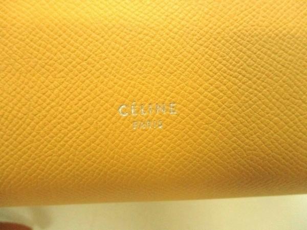 CELINE(セリーヌ) ハンドバッグ美品  ベルトバッグ イエロー レザー 6