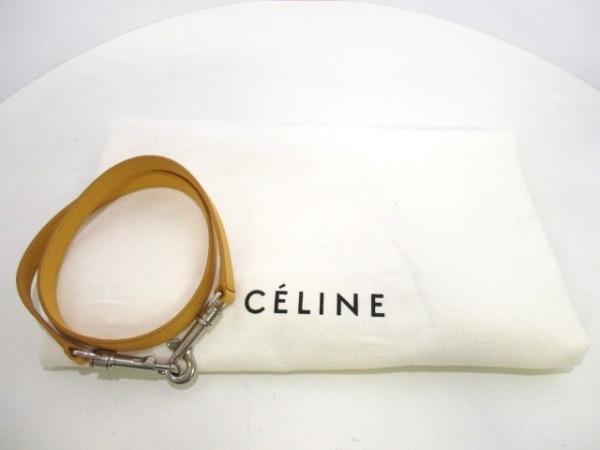 CELINE(セリーヌ) ハンドバッグ美品  ベルトバッグ イエロー レザー 9