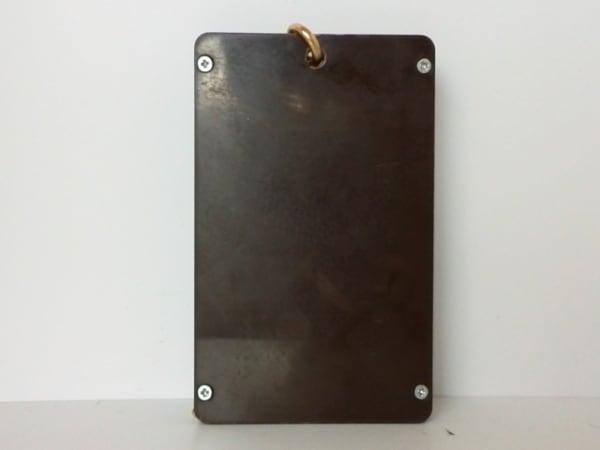 Q-pot.(キューポット) パスケース ブラウン×ゴールド チョコレート 2
