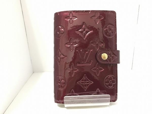 ルイヴィトン 手帳 モノグラムヴェルニ美品  アジェンダPM R21072 0