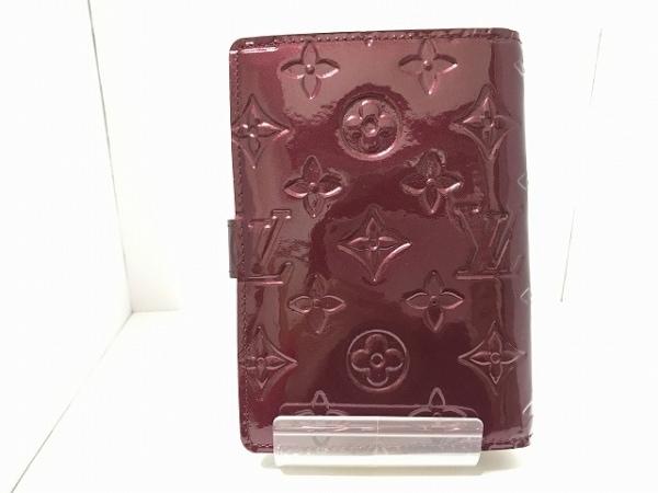 ルイヴィトン 手帳 モノグラムヴェルニ美品  アジェンダPM R21072 2