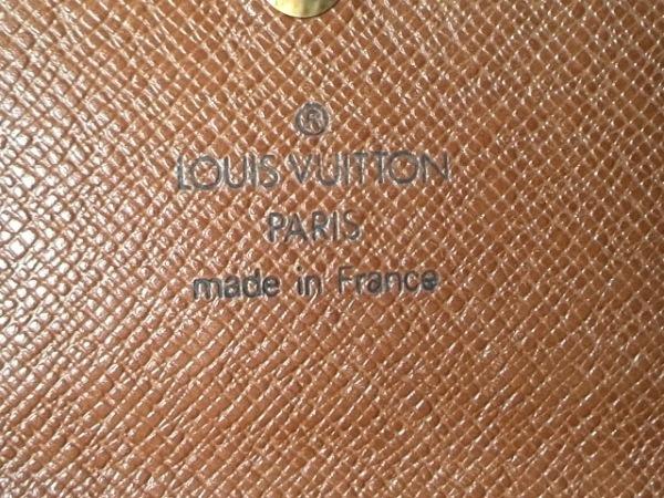 LOUIS VUITTON(ルイヴィトン) Wホック財布 モノグラム M61652 5
