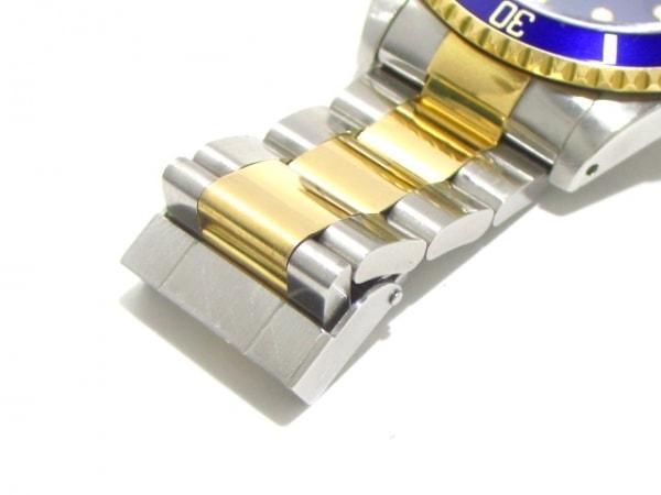 ロレックス 腕時計美品  サブマリーナデイト 16613 メンズ ブルー 7