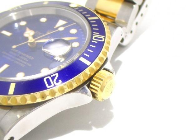 ロレックス 腕時計美品  サブマリーナデイト 16613 メンズ ブルー 8