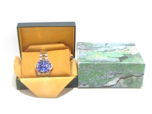 ロレックス 腕時計美品  サブマリーナデイト 16613 メンズ ブルー 9