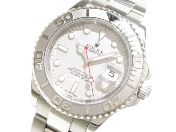 ロレックス 腕時計 ヨットマスターロレジウム 16622 メンズ シルバー 0