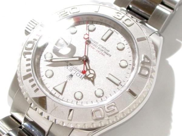 ロレックス 腕時計 ヨットマスターロレジウム 16622 メンズ シルバー 8