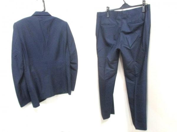 ルイヴィトン シングルスーツ サイズ50 XL メンズ ストライプ 2
