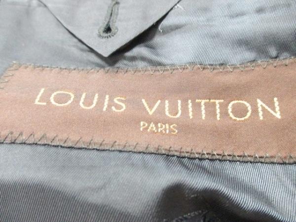 ルイヴィトン シングルスーツ サイズ50 XL メンズ ストライプ 3