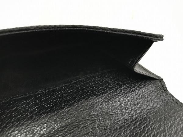 GUCCI(グッチ) Wホック財布 GG柄 120922 黒 スタッズ 4