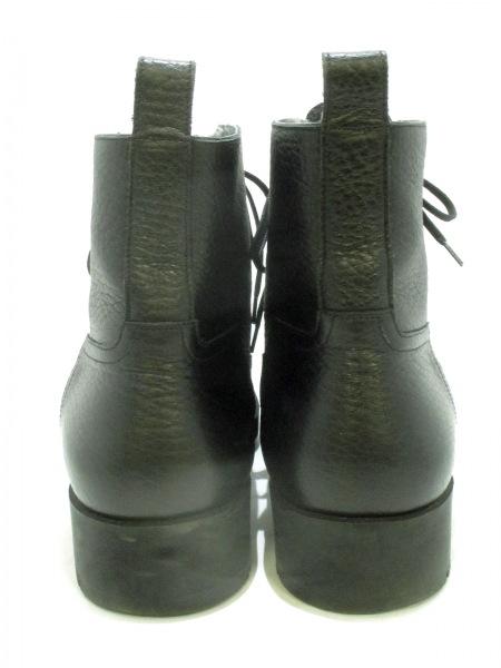 HERMES(エルメス) ショートブーツ メンズ美品  黒 ムートン 3