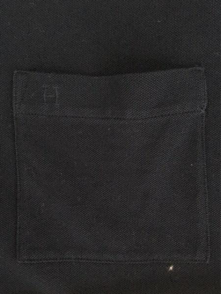 エルメス 半袖ポロシャツ サイズM メンズ ダークネイビー×ブルー 5