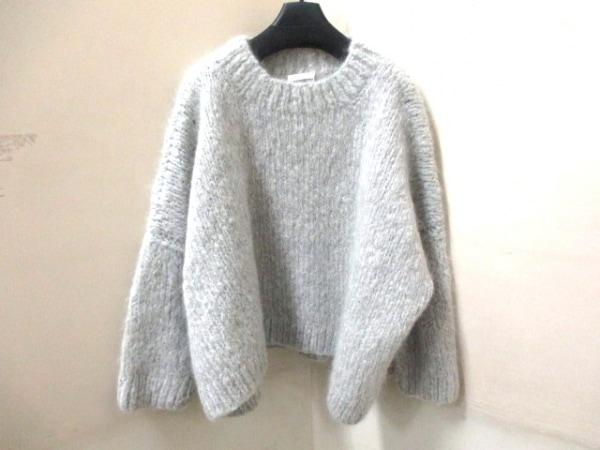クロエ 長袖セーター サイズS レディース新品同様  ライトグレー 0