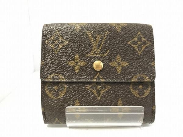 LOUIS VUITTON(ルイヴィトン) Wホック財布 モノグラム M61652 0