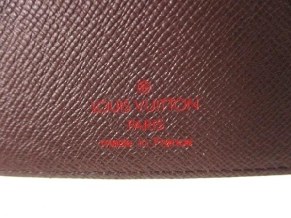 ルイヴィトン 手帳 ダミエ美品  アジェンダMM R20701 エベヌ 4