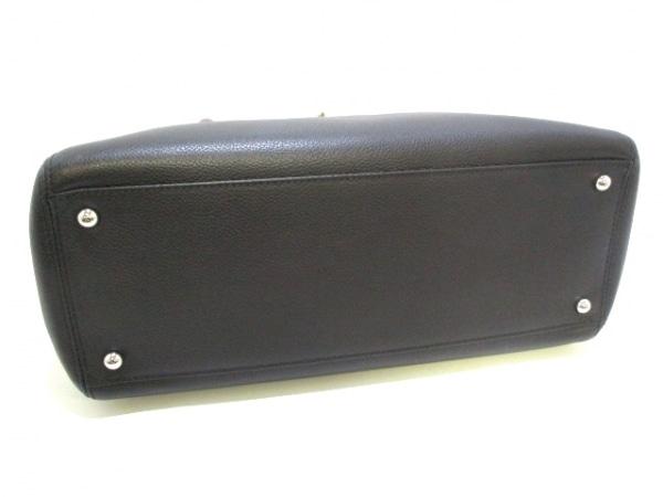 シャネル トートバッグ エグゼクティブライン A67282 黒×ボルドー 4