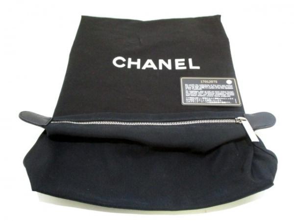 シャネル トートバッグ エグゼクティブライン A67282 黒×ボルドー 9