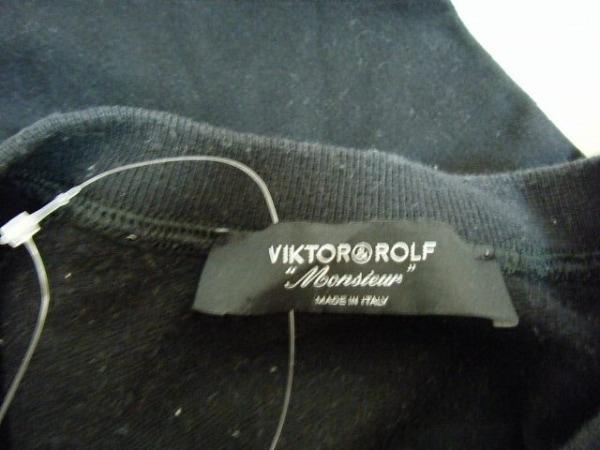 ヴィクター&ロルフ トレーナー サイズ46 XL メンズ 黒 MONSIEUR 3