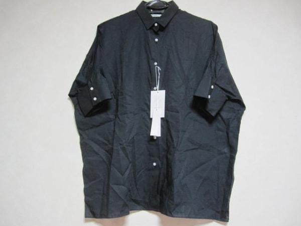アッパーハイツ 半袖シャツブラウス サイズ0 XS レディース美品  黒 0