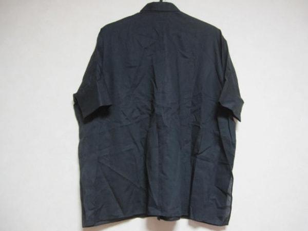 アッパーハイツ 半袖シャツブラウス サイズ0 XS レディース美品  黒 2