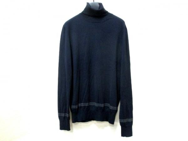 HERMES(エルメス) 長袖セーター サイズM メンズ美品  タートルネック 0
