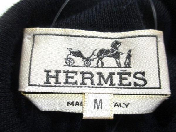 HERMES(エルメス) 長袖セーター サイズM メンズ美品  タートルネック 3