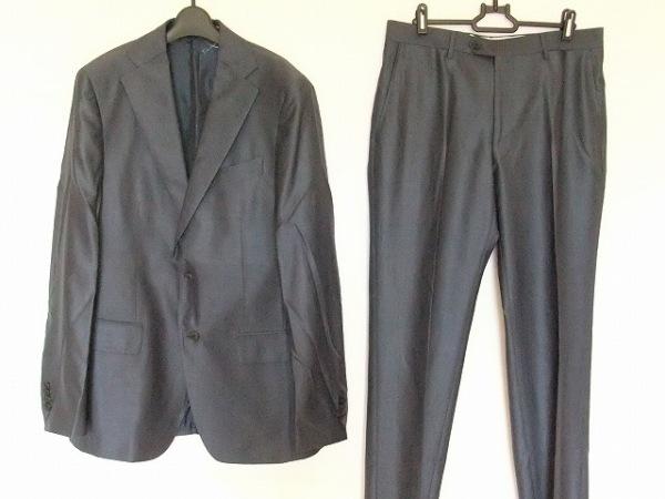 サルバトーレフェラガモ シングルスーツ サイズ48 M メンズ美品 0
