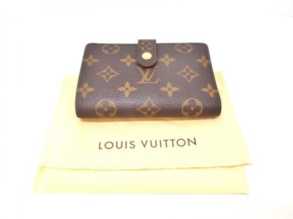 LOUIS VUITTON(ルイヴィトン) 2つ折り財布 モノグラム美品  M61674 8