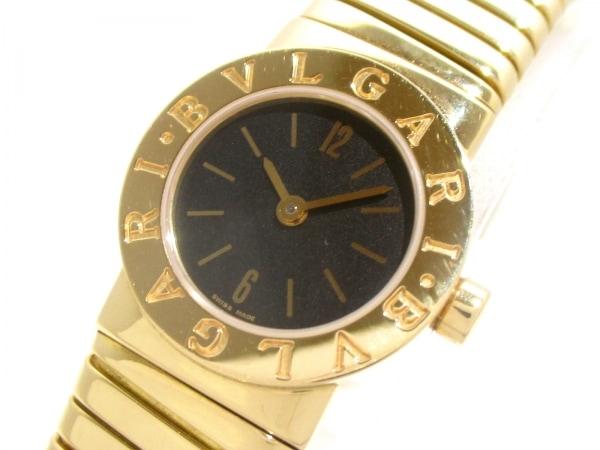 ブルガリ 腕時計美品  ブルガリブルガリ トゥボガス BB192T 黒 0