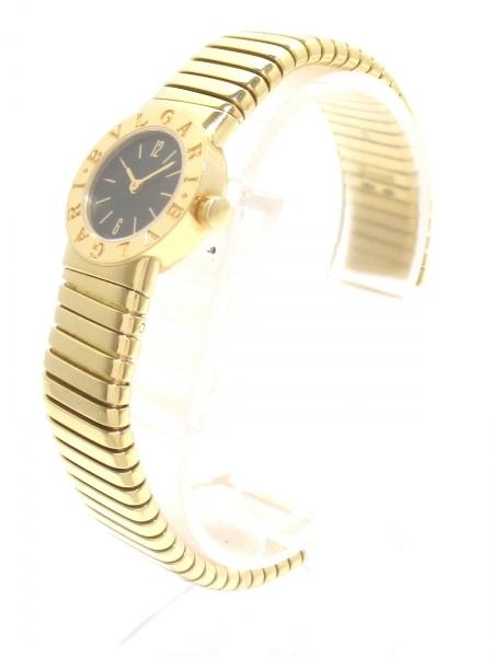ブルガリ 腕時計美品  ブルガリブルガリ トゥボガス BB192T 黒 2