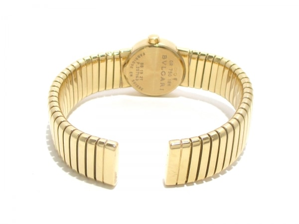 ブルガリ 腕時計美品  ブルガリブルガリ トゥボガス BB192T 黒 5