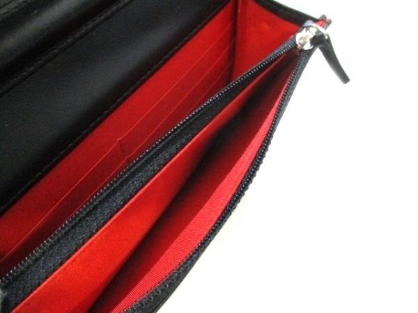 CHANEL(シャネル) 財布美品  マトラッセ 黒×マルチ ラムスキン 5