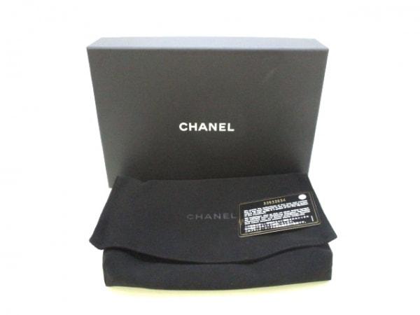 CHANEL(シャネル) 財布美品  マトラッセ 黒×マルチ ラムスキン 7