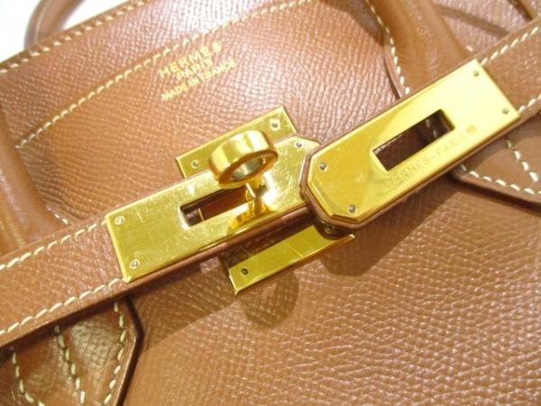 HERMES(エルメス) ハンドバッグ バーキン35 ゴールド ゴールド金具 3