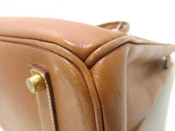 HERMES(エルメス) ハンドバッグ バーキン35 ゴールド ゴールド金具 6