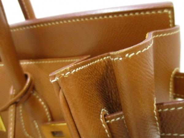 HERMES(エルメス) ハンドバッグ バーキン35 ゴールド ゴールド金具 7