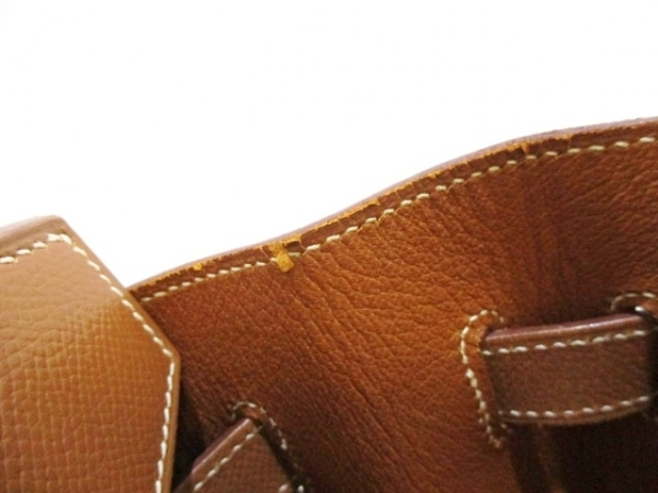 HERMES(エルメス) ハンドバッグ バーキン35 ゴールド ゴールド金具 8
