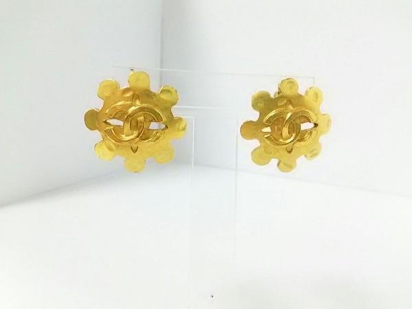 CHANEL(シャネル) イヤリング 金属素材 ゴールド ココマーク 0
